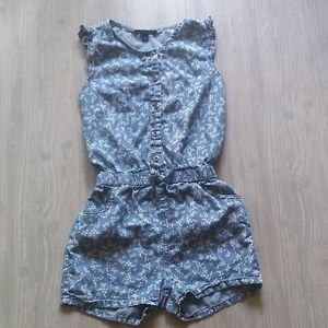 {Joe's Jeans} Floral Chambray Romper